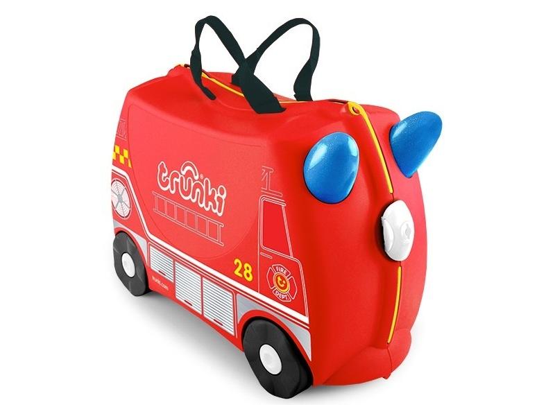 Kufřík + odrážedlo hasičský vůz Frankie 1