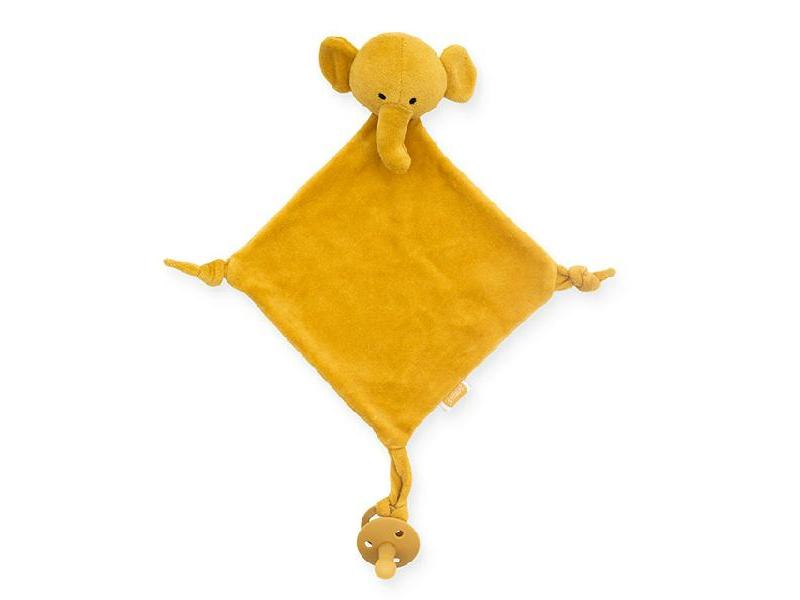 Muchláček slon mustard 1