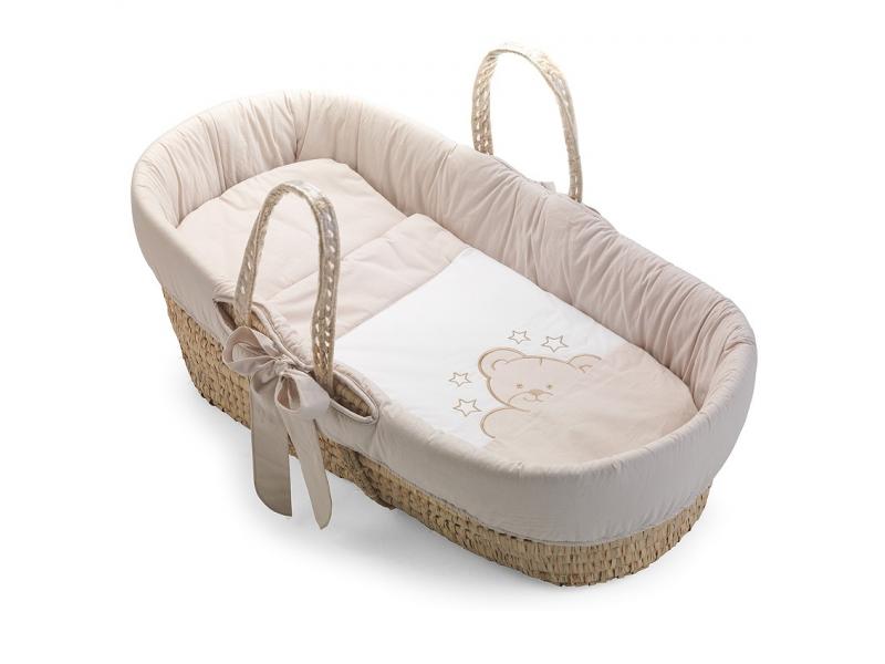 Košík pro miminko GEORGIA písková 1
