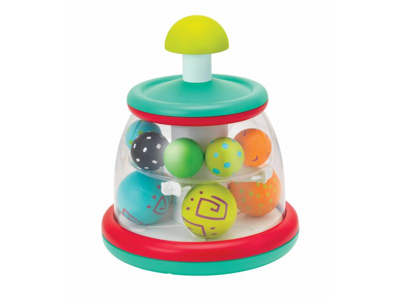 Hrací pult s rotujícími míčky 1