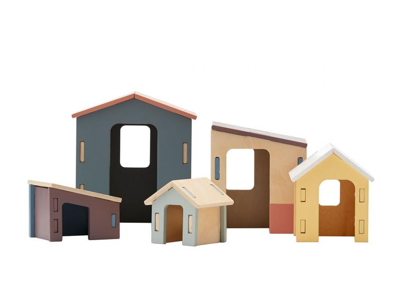 Kids Concept Domky dřevěné Edvin