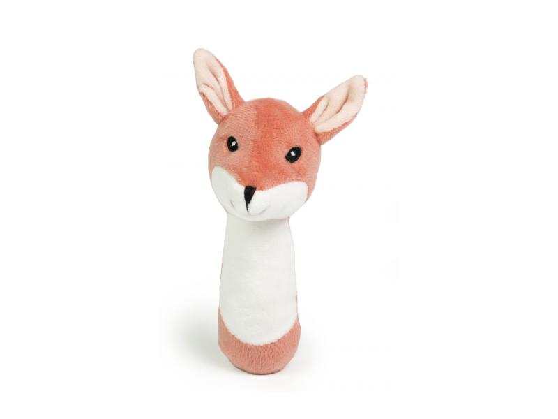 Kids Concept Chrastítko plyšové liška Edvin