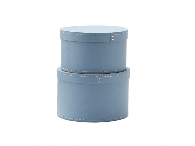 Krabice kulatá 2 ks Blue 1
