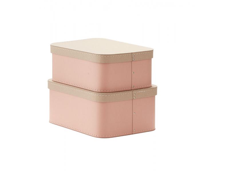 Krabice 2 ks Pink 1