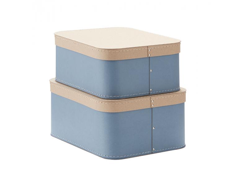 Kids Concept Krabice 2 ks Blue