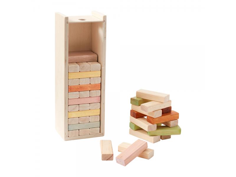 Kostky dřevěné 1