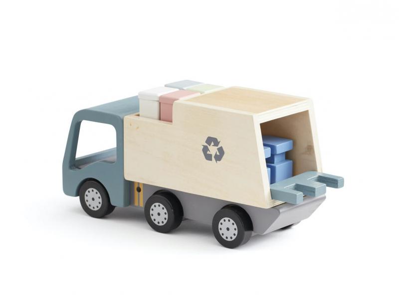 Kids Concept Popelářský vůz Aiden dřevěný