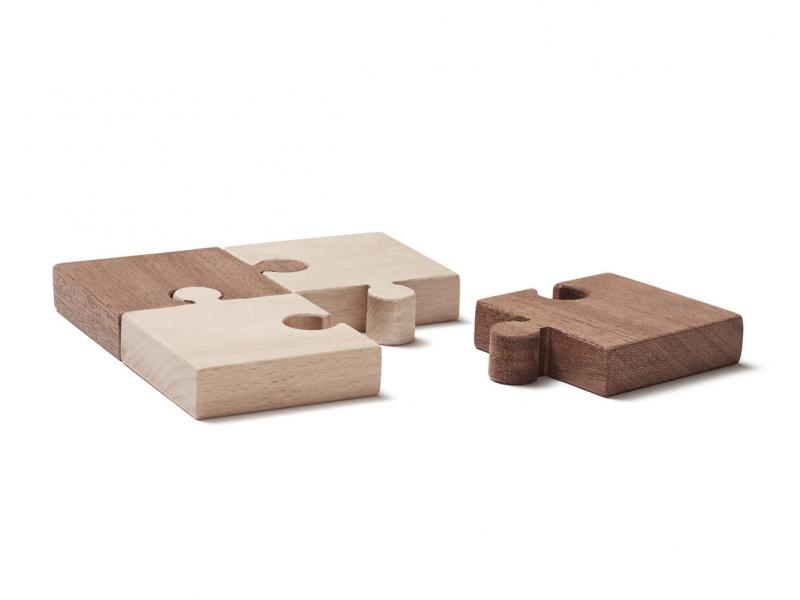 Puzzle dřevěné 4 ks Neo 1