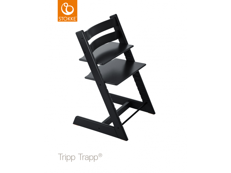 Stokke Židlička Tripp Trapp® Classic - Black