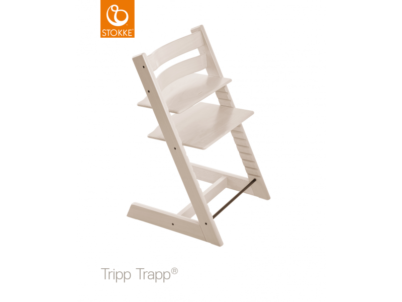 Stokke Židlička Tripp Trapp® Classic - Whitewash