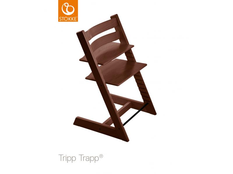 Stokke Židlička Tripp Trapp® Classic - Walnut Brown