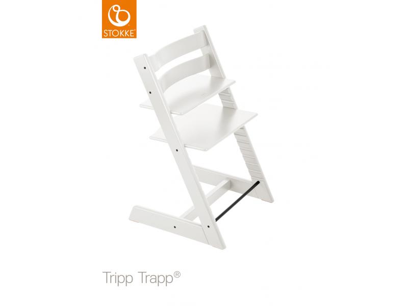 Stokke Židlička Tripp Trapp® Classic - White