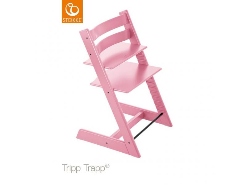 Stokke Židlička Tripp Trapp® Classic - Soft Pink
