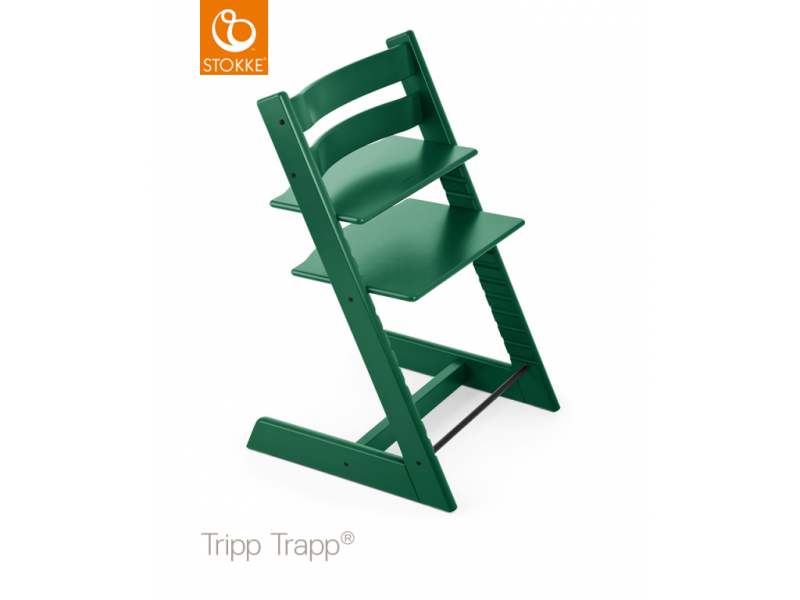 Stokke AS Židlička Tripp Trapp® Classic - Forest Green