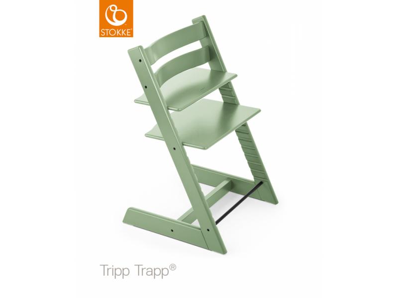 Stokke AS Židlička Tripp Trapp® Classic - Moss Green