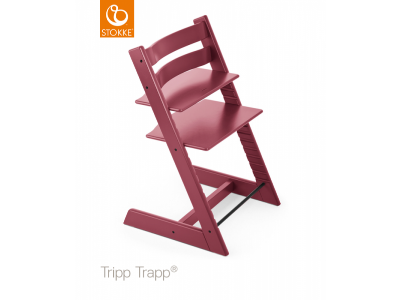 Stokke AS Židlička Tripp Trapp® Classic - Heather Pink