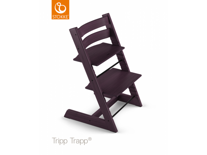 Stokke AS Židlička Tripp Trapp® Classic - Plum purple