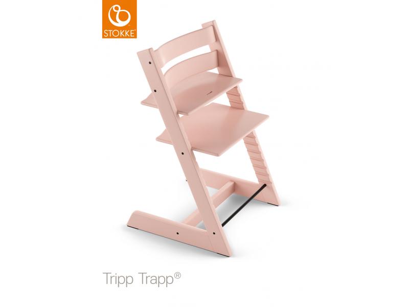 Stokke Židlička Tripp Trapp® Classic - Serene Pink