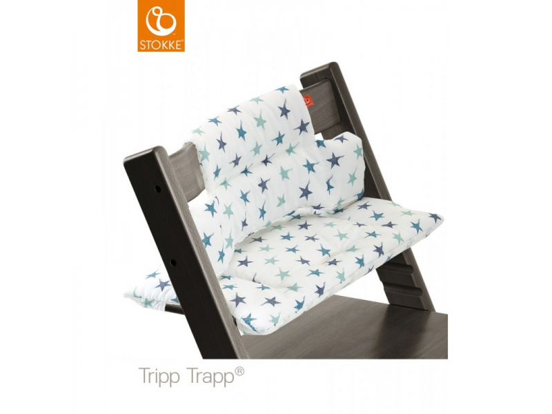Stokke Polstrování classic k židličce Tripp Trapp® - Aqua Star
