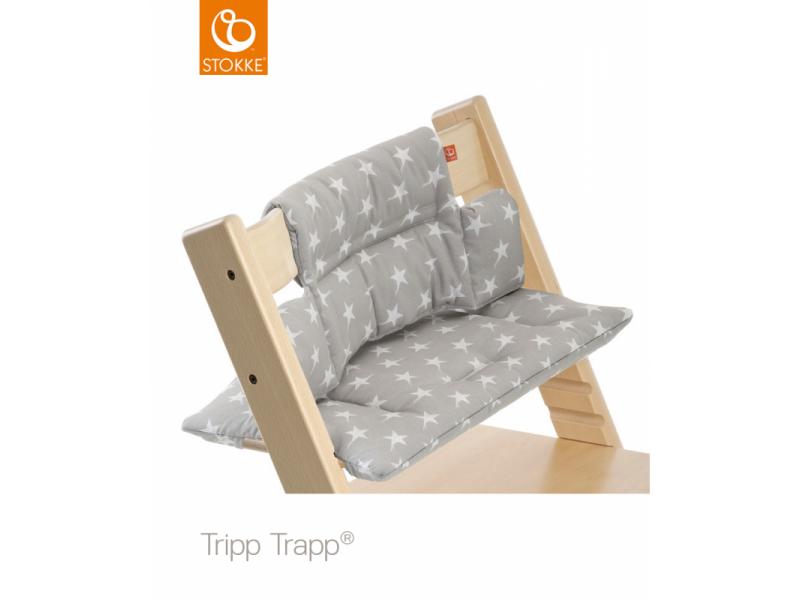 Stokke Polstrování classic k židličce Tripp Trapp® - Grey Star