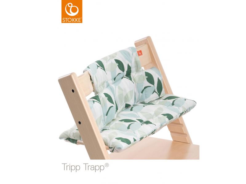 Stokke Polstrování classic k židličce Tripp Trapp® - Green Forest
