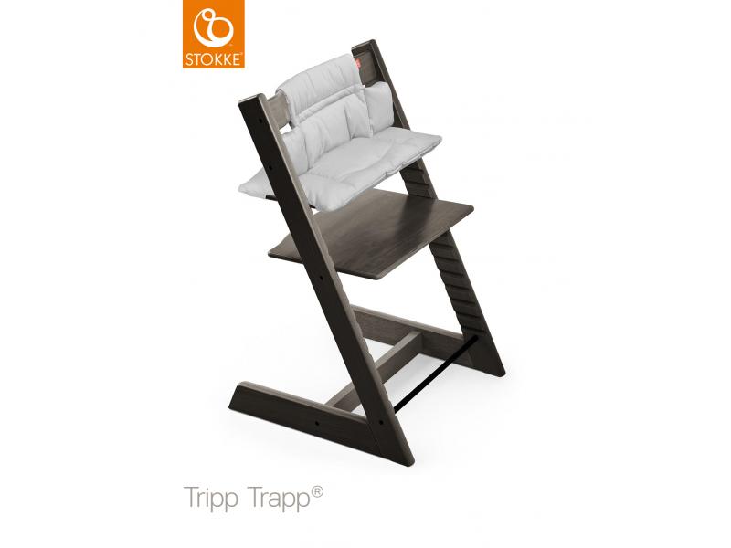 Stokke Polstrování classic k židličce Tripp Trapp® - Grey Melange