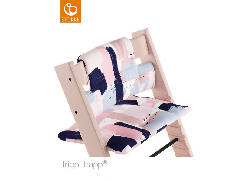 Stokke Polstrování classic k židličce Tripp Trapp® - Paintbrush (Organic Cotton)