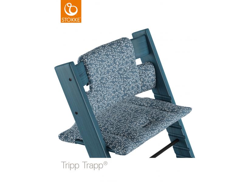 Stokke Polstrování classic k židličce Tripp Trapp® - Flower Garden (Organic Cotton)