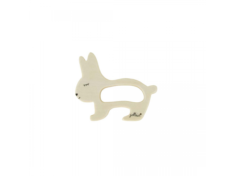 Dřevěná hračka, kroužek do ručičky, Rabbit 1