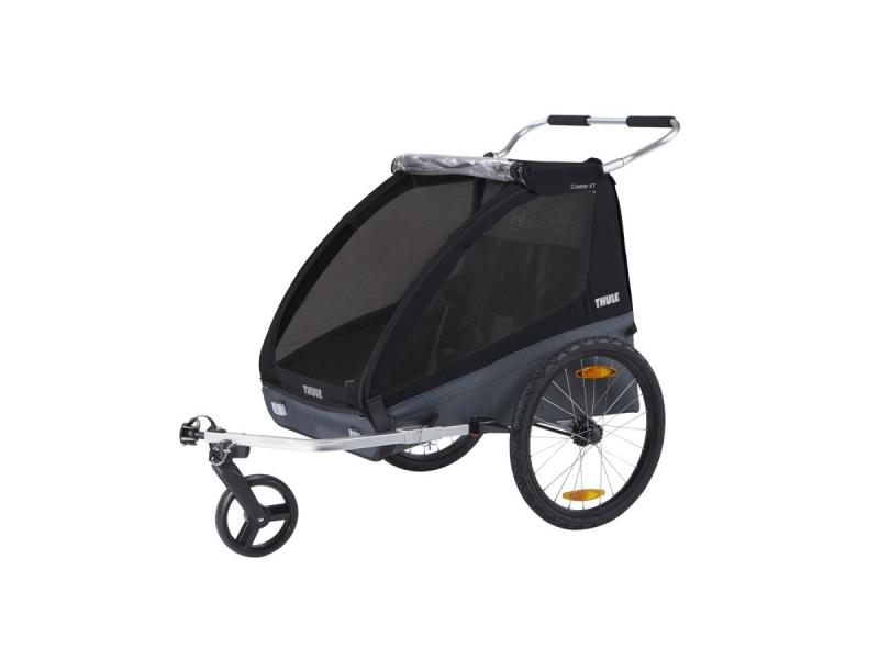 Thule Coaster XT bike trailer+Stroll Black 1