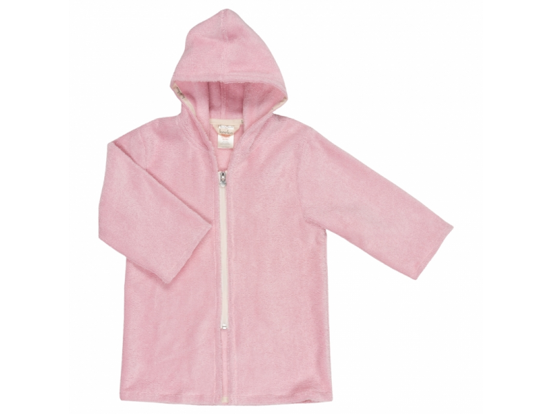 Koeka Župan na zip Venice 110/116 baby pink