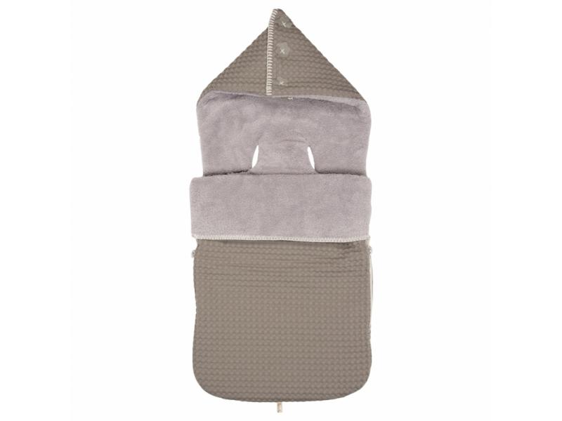 Koeka Fusak Oslo (3 a 5-bodový pás) taupe/soft grey