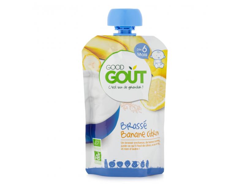 Good Gout Kapsička BIO Banánový jogurt s citrónem 90 g