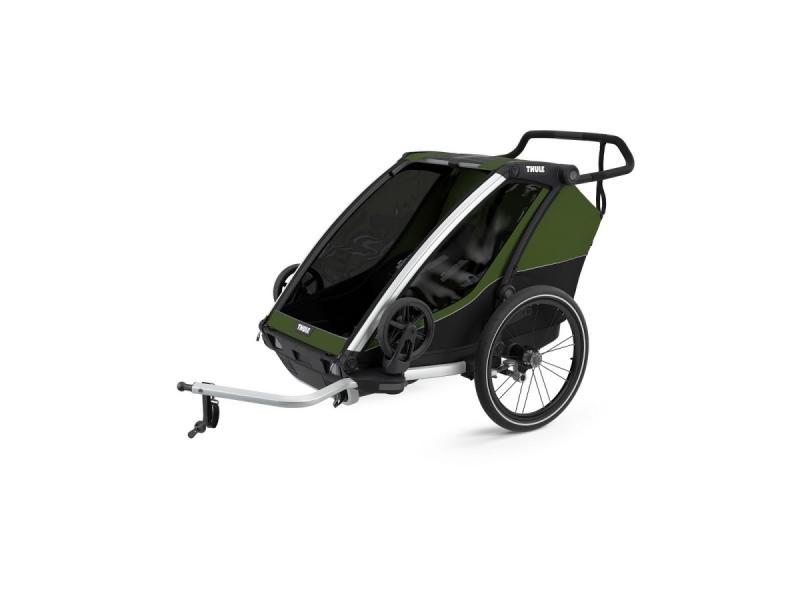 Thule Chariot Cab2 CypresGreen 1