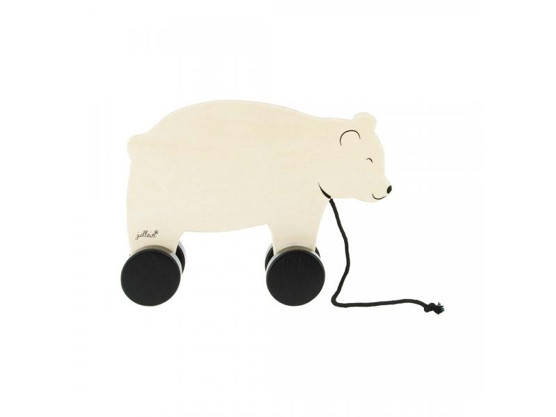 Dřevěný tahací medvěd, Bear 1
