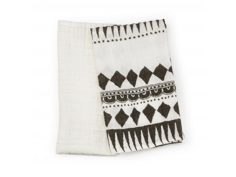 Elodie Details Dečky z bambusového mušelínu Graphic Devotion