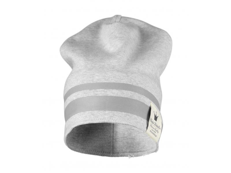 Elodie Details Zimní bavlněná čepice - Gilded Grey 6-12 m
