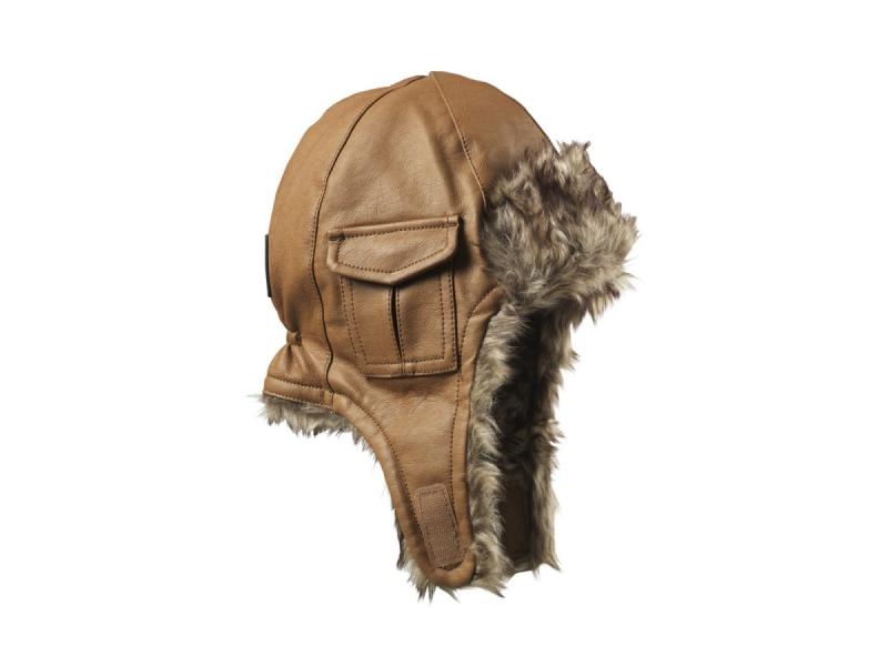 Ušanka Chestnut Leather 1-2 y 1