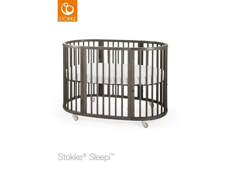 Stokke Postýlka Sleepi™, Hazy Grey