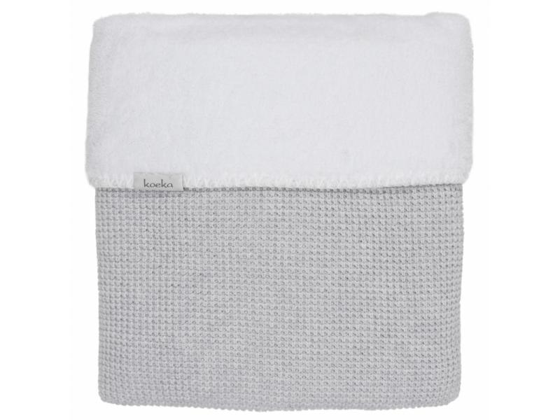 Pletená deka Vizela silver grey/white 1