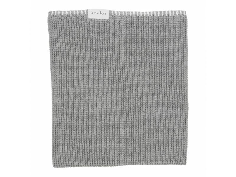 Koeka Pletená deka Vizela water grey/letní