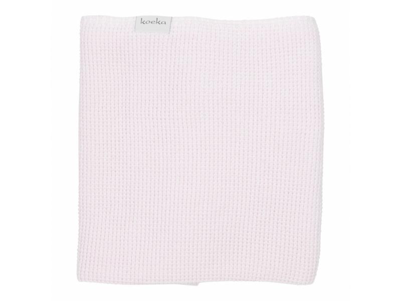 Koeka Pletená deka Vizela water pink/letní