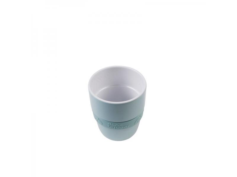 Hrníček Elphee Yummy mug se silikonovým kroužkem - modrý 1