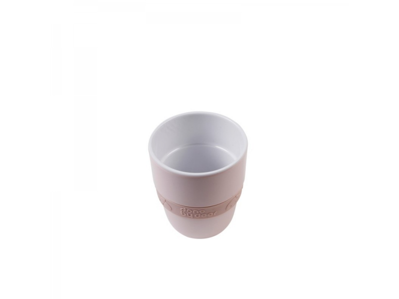 Hrníček Elphee Yummy mug se silikonovým kroužkem - růžový 1