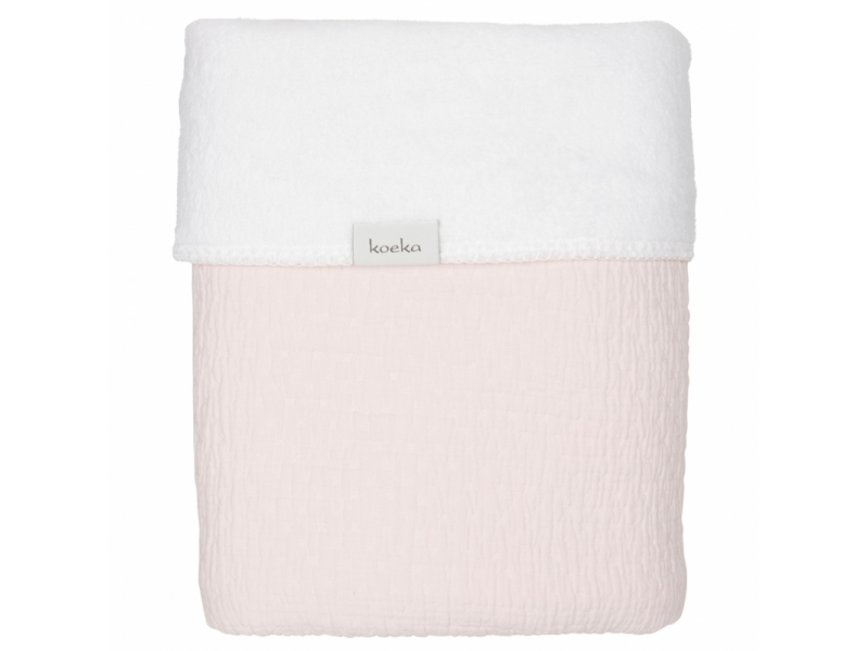 Koeka Deka Elba teddy waterpink/white