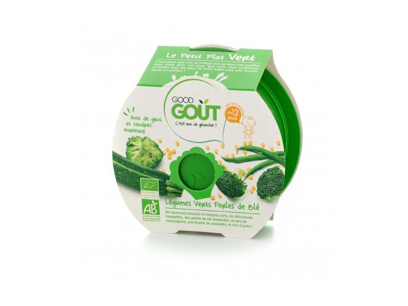 Miska BIO Brokolice, cuketa a zelené fazolky s tarhoňou 220 g 1