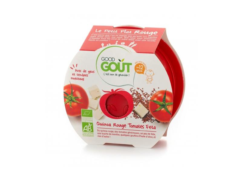 Miska BIO Rajčátka s červenou quinou a sýrem Feta 220 g 1