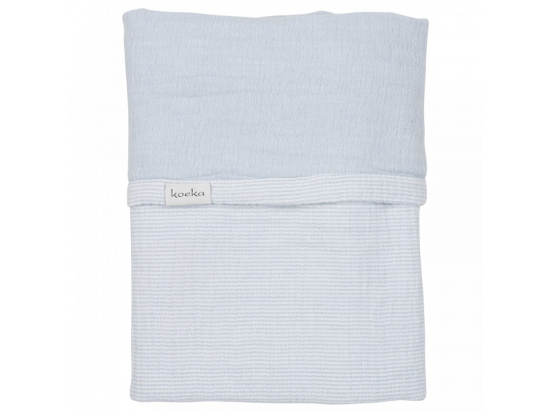 ALTEA deka do kočárku - soft blue, 75x100cm 1