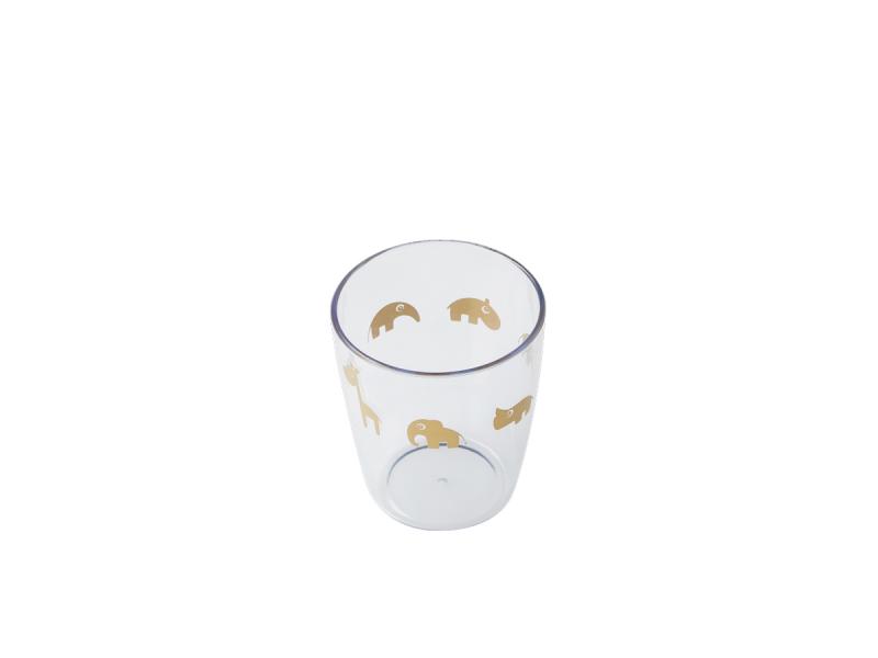 Yummy mini sklenička - zlatá 1