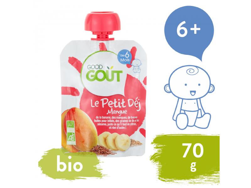Good Gout Kapsička BIO Mangová snídaně 70 g